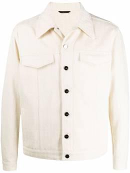 Fendi джинсовая куртка оверсайз FW0428ABB5