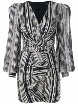 Patbo платье в полоску с эффектом металлик V20PATVES2313C