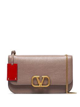 Valentino Garavani сумка на плечо среднего размера с логотипом VLogo TW2B0F22PAM