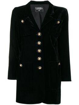 Chanel Pre-Owned пиджак 1990-х годов CHA2500C