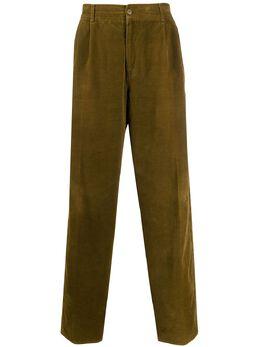 Versace Pre-Owned брюки свободного кроя 1980-х годов VRS480D