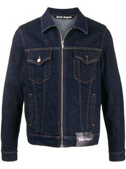 Palm Angels джинсовая куртка на молнии PMYE003R207600287000