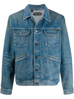 Tom Ford джинсовая куртка TFD116BUJ21