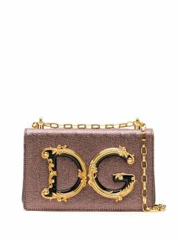 Dolce&Gabbana клатч DG Girls с цепочкой BB6498AJ660