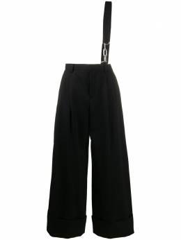 Comme Des Garcons Noir Kei Ninomiya широкие брюки с цепочным поясом 3EU002