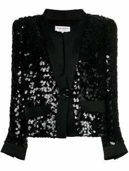 Yves Saint Laurent Pre-Owned куртка с пайетками YSL1500A