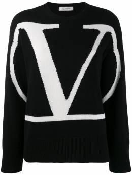 Valentino кашемировый свитер с логотипом Go Logo SB3KCA494U5