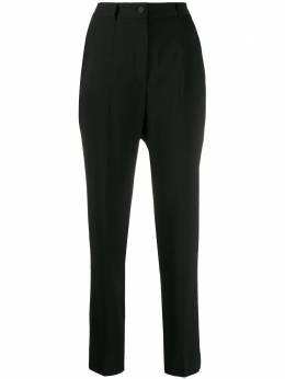 Dolce&Gabbana брюки с завышенной талией FTAM2TFUCC6