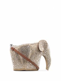Loewe декорированная мини-сумка с кристаллами 12606M93