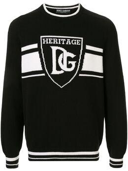 Dolce&Gabbana джемпер с логотипом GX883TJAWUL