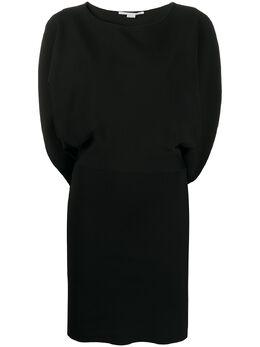 Stella McCartney приталенное платье с разрезами на рукавах 600766S2076