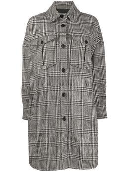 Isabel Marant Etoile куртка-рубашка в ломаную клетку MA069820P008E