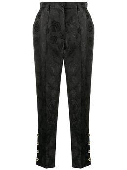 Dolce&Gabbana жаккардовые брюки с цветочным узором FTBQSTFJM7S