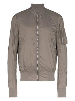 Rick Owens DRKSHDW flight zipped bomber jacket DU20S5774ND