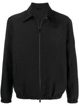 Fendi куртка на молнии с монограммой FW0607AANZ