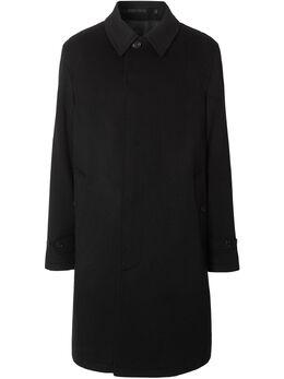 Burberry однобортное пальто 8021786