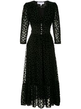 NK жаккардовое платье миди VS100772