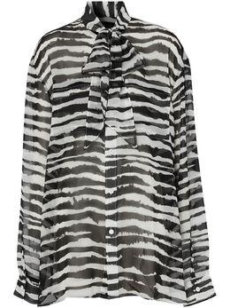 Burberry блузка с принтом 4564508