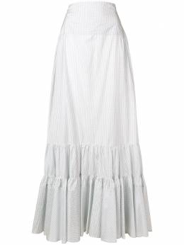 Calvin Klein 205W39nyc tiered check skirt 84WWSB49S239