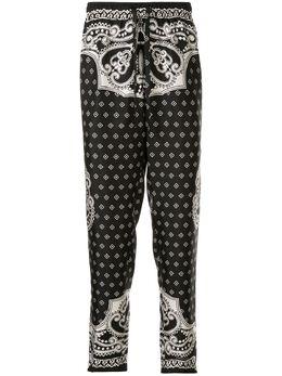Dolce&Gabbana спортивные брюки с принтом GYBOHTFI1KU