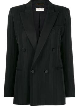 Saint Laurent двубортный пиджак 585532Y404W