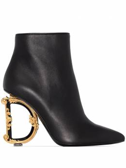 Dolce&Gabbana ботильоны на скульптурном каблуке CT0635AV967