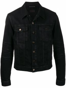 Saint Laurent джинсовая куртка 597064Y500A