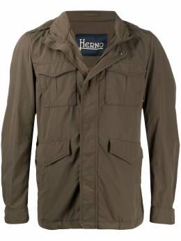 Herno короткая куртка с карманами FI0062U12302