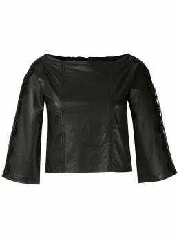 Andrea Bogosian блузка Ray с вырезом-лодочкой 008572