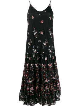 Tory Burch многослойное платье 60850