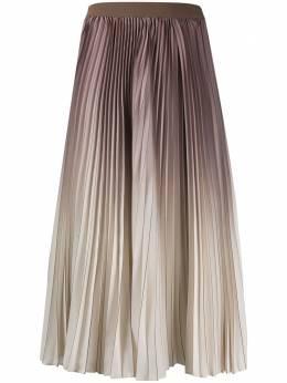 Agnona плиссированная юбка миди S5002G603OY