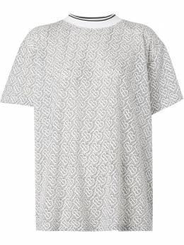Burberry футболка с монограммой 8026471
