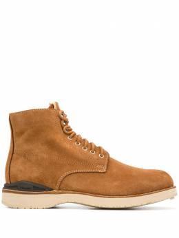 Visvim ботинки на шнуровке 0120102002006SBROWN