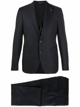 Tagliatore костюм-тройка из ткани пике 3FBR26B0106UEA291