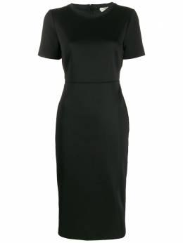 Fendi платье с отделкой Zucca FD9627A5HJ