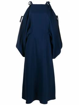 Prada платье миди с завязками P3A57S201S2Y