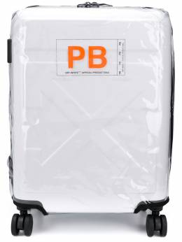 Off-White чемодан For Travel с тисненым логотипом OWNG001R20F610670101