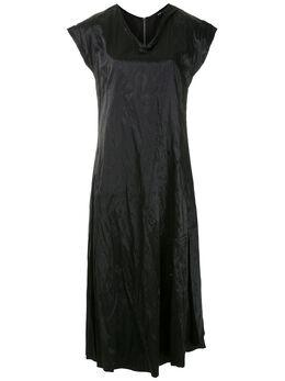Uma | Raquel Davidowicz платье Belize с жатым эффектом VESTIDOBELIZE02AW20