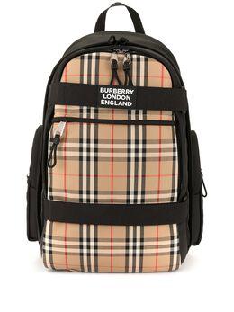 Burberry большой рюкзак Nevis в клетку в клетку Vintage Check 8023640