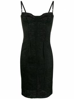 Dolce&Gabbana Pre-Owned кружевное платье-комбинация 1990-х годов DEG450C