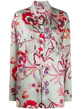 Faith Connexion блузка с цветочным принтом W1817T00520