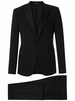 Emporio Armani костюм-двойка узкого кроя 51VMUR01506