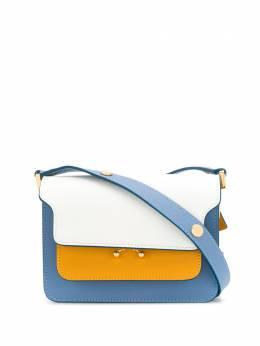 Marni сумка на плечо со вставками SBMPS01U49LV520