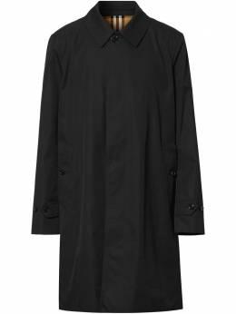 Burberry габардиновое пальто 8019046