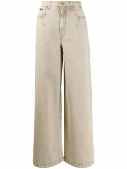 Dolce&Gabbana джинсы широкого кроя с завышенной талией FTBOMDG899F