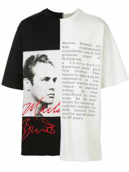 Dolce&Gabbana футболка Marlon Brando G8LE7ZG7VPP