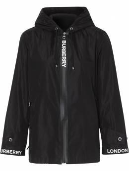 Burberry куртка с логотипом из коллаборации с Econyl® 8027503