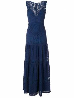 Martha Medeiros кружевное ярусное платье Yana VL022LV0