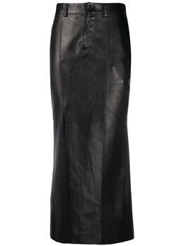 Marni юбка миди прямого кроя GOMX0263UYLA729