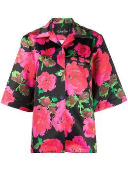 Richard Quinn рубашка свободного кроя с цветочным принтом RQSS2084000